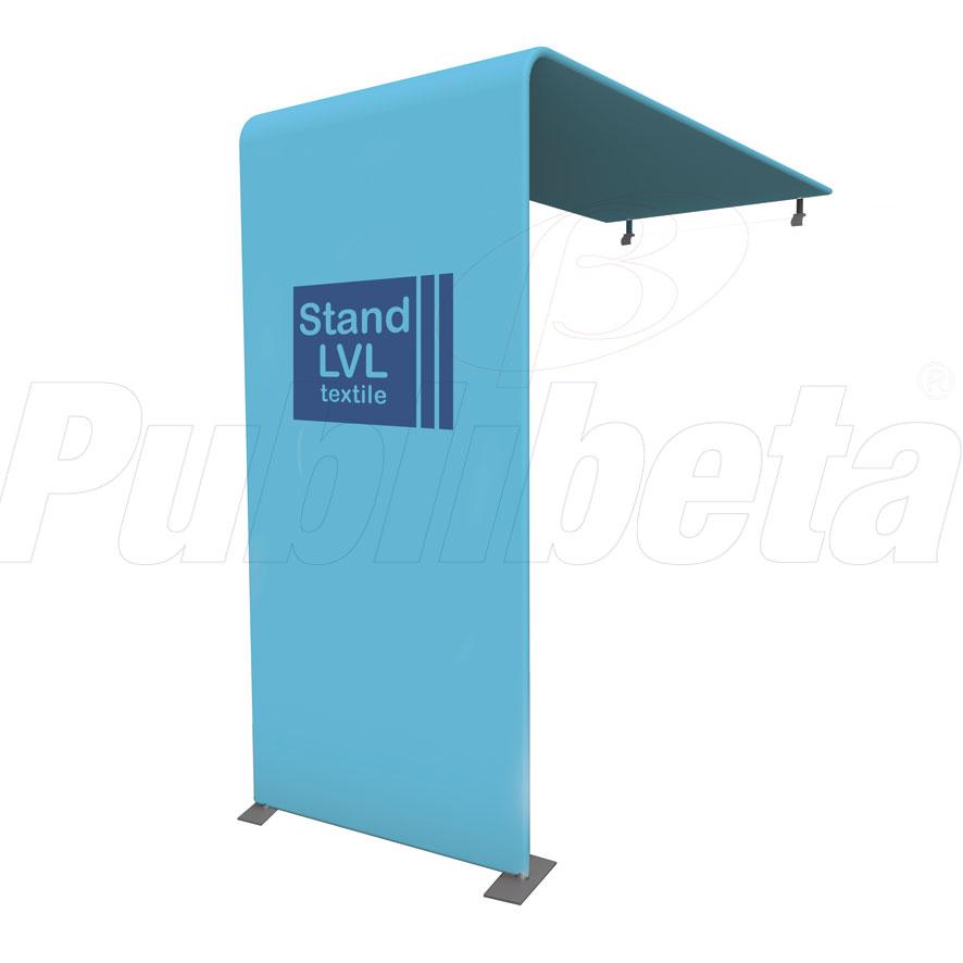 Stand portatile per fiera. Modulo componibile per paresti e fondali.