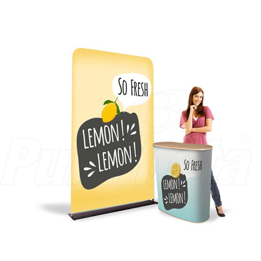 desk promozionali pubblicitari trasportabili richiudibili