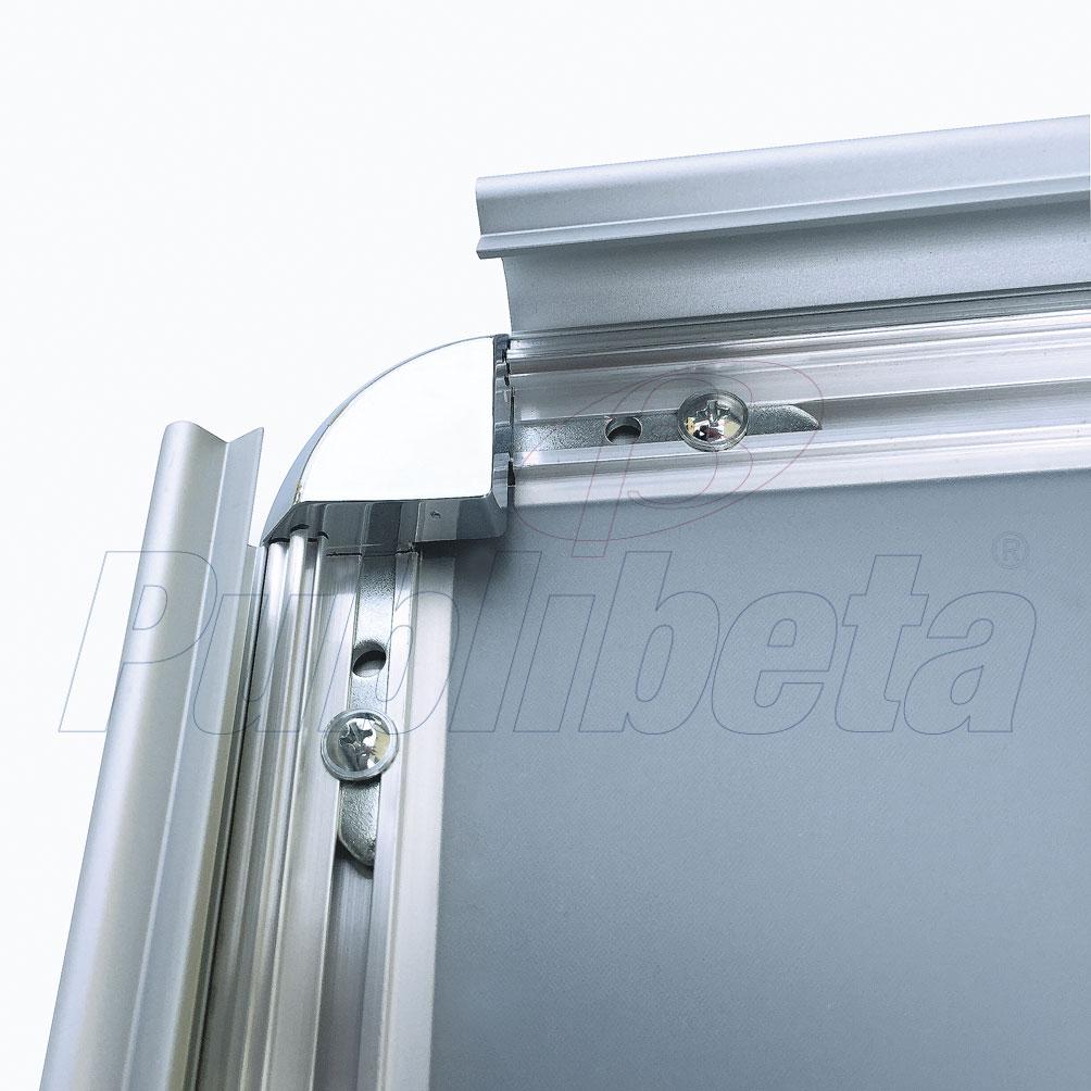 cornici a scatto in alluminio100x140