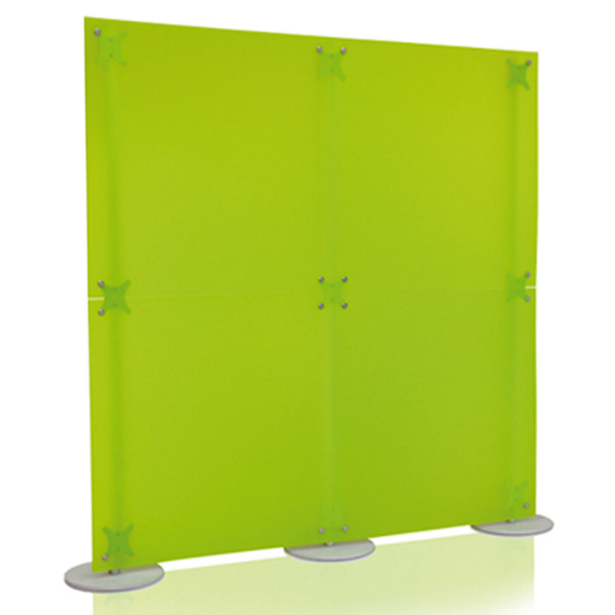 Pareti divisorie dritte in plexiglass vari colori