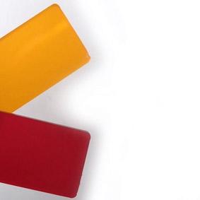 colori pannelli plexi FLOSTAND