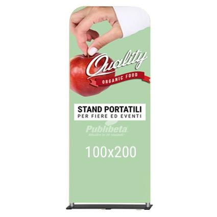 totem portatile 100x200 cm