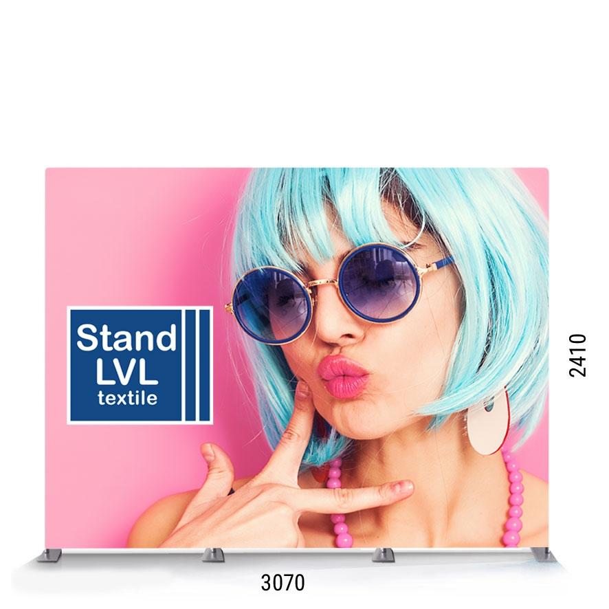 Stand portatile per fiere - Parete Modello LVL